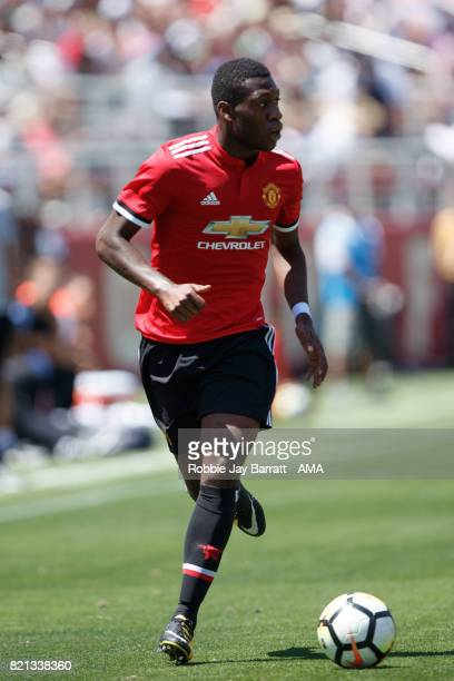 Timothy FosuMensah of Manchester United during the International Champions Cup 2017 match between Real Madrid v Manchester United at Levi'a Stadium...