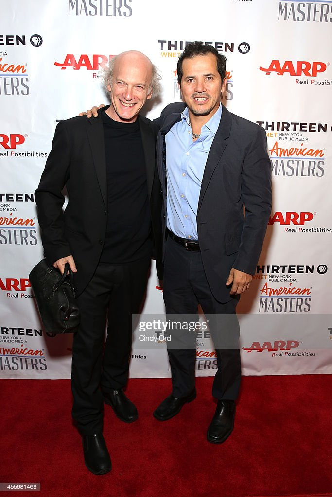 Timothy GreenfieldSanders and John Leguizamo attend American Masters The Boomer List NYC Premiere on September 18 2014 in New York City