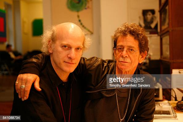 Timothy GreenfieldSanders and Lou Reed