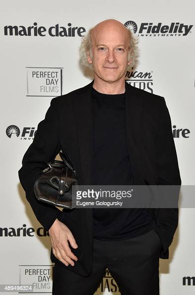 Timothy GreenfieldSanders attends the Marie Claire Fidelity And WNET Celebrate The Women's List Premiere At Hearst Tower on September 21 2015 in New...