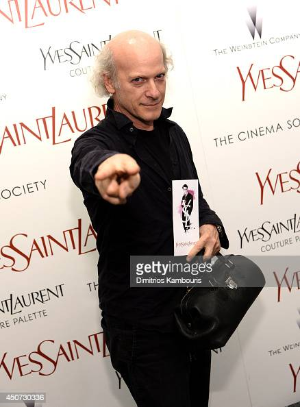 Timothy GreenfieldSanders attends The Weinstein Company's 'Yves Saint Laurent' premiere hosted by Yves Saint Laurent Couture Palette The Cinema...