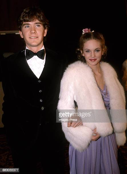 Timothy Hutton and Diane Lane circa 1981 in Los Angeles California