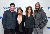 Timothy Hutton Lili Taylor Felicity Huffman and writer John Ridley attend 92nd Street Y Presents An Evening With 'American Crime' Season Two at the...