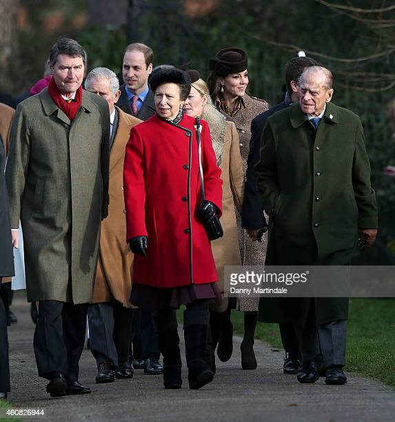 Timothy Laurence Prince Charles Prince of Wales Prince William Duke of Cambridge Catherine Duchess of Cambridge Princess Anne Princess Royal Autumn...