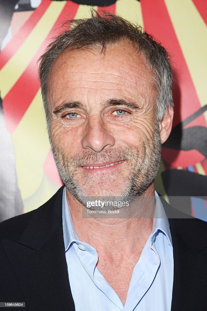 Timothy Murphy attends the Red Line Tours presents the 'Directors Series' 2nd annual commemorative ticket VIP private press event held at American Cinematheque's Egyptian Theatre on January 17, 2013 in Hollywood, California.