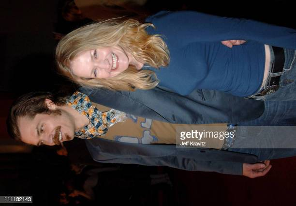 Timothy Olyphant and Paula Malcomson during HBO's 'Deadwood' Season 2 Los Angeles Premiere Arrivals at Grauman's Chinese Theater in Los Angeles...