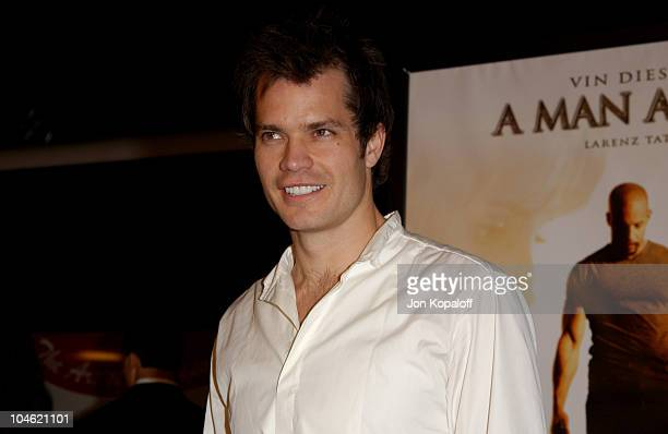 Timothy Olyphant during 'A Man Apart' Premiere at Mann Chinese Theater in Hollywood California United States