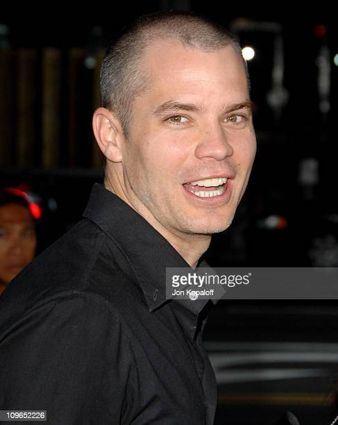 Timothy Olyphant during 'Sicko' Los Angeles Premiere Arrivals at Academy Of Motion Picture Arts Sciences in Beverly Hills California United States