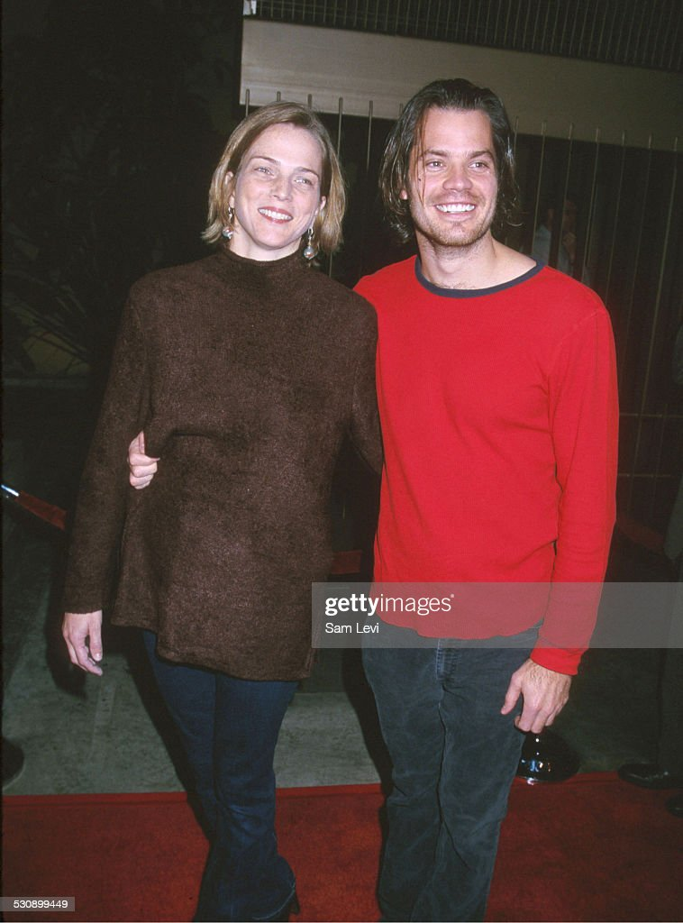 <a gi-track='captionPersonalityLinkClicked' href=/galleries/search?phrase=Timothy+Olyphant&family=editorial&specificpeople=589275 ng-click='$event.stopPropagation()'>Timothy Olyphant</a> & Wife during Shadow of the Vampire Los Angeles Premiere at The Egyptian Theatre in Hollywood, California, United States.