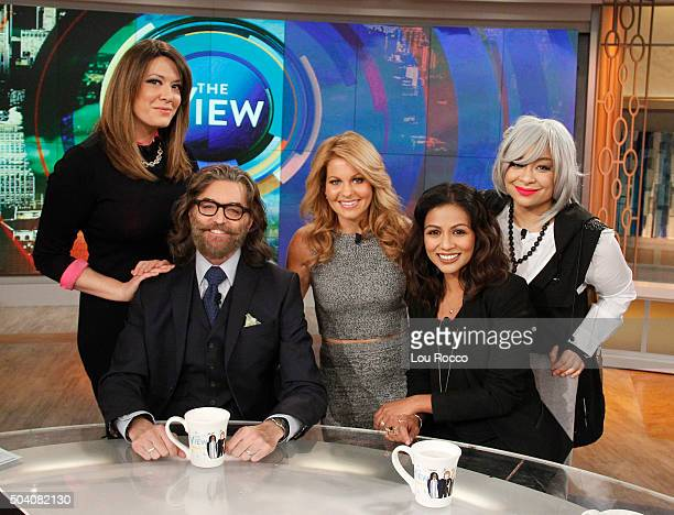 THE VIEW Timothy Omundson and Karen David visit 'THE VIEW' 1/8/16 airing on the ABC Television Network
