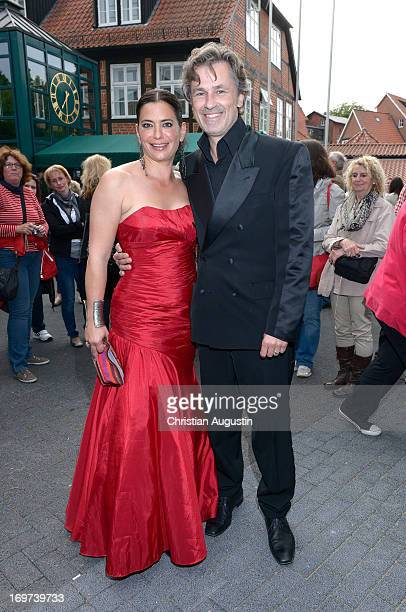 Timothy Peach and Sandra Speichert attend 1500th episode celebration event at Palais Hotel Bergstroem on May 31 2013 in Luneburg Germany