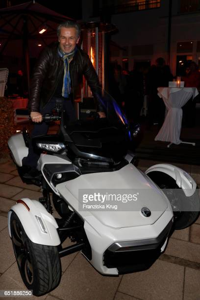Timothy Peach attends the 'Baltic Lights' charity event on March 10 2017 in Heringsdorf Germany Every year German actor Till Demtroder hosts a...
