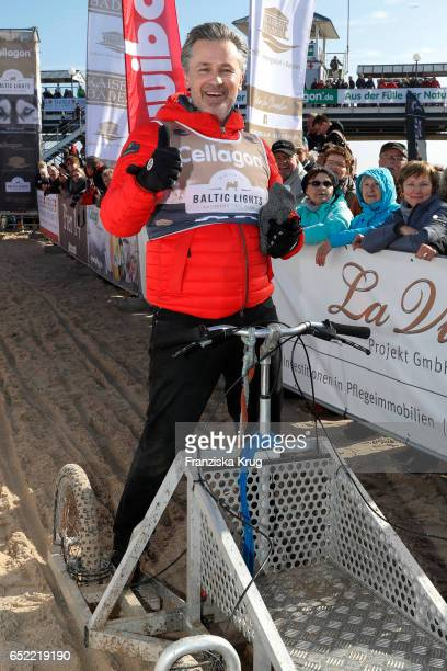 Timothy Peach attends the 'Baltic Lights' charity event on March 11 2017 in Heringsdorf Germany Every year German actor Till Demtroder hosts a...