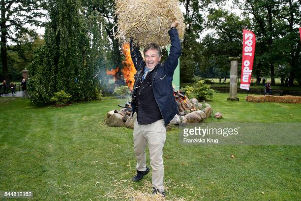 Timothy Peach attends the Till Demtroeders CharityEvent 'Usedom Cross Country' at Schloss Mellenthin on September 9 2017 near Heringsdorf at Usedom...
