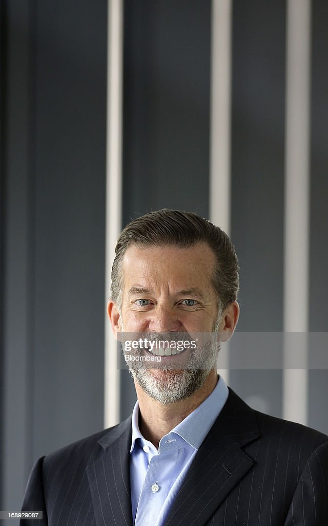Timothy Richards, chief executive officer of Vue Entertainment Ltd., poses for a photograph following a Bloomberg Television interview in London, U.K. on Friday, May 17, 2013. Vue Entertainment bought Poland's second- largest cinema chain from Warsaw-based Grupa ITI and Area Property Partners for undisclosed sum, according to an e-mailed statement released by ITI earlier this week. Photographer: Chris Ratcliffe/Bloomberg via Getty Images