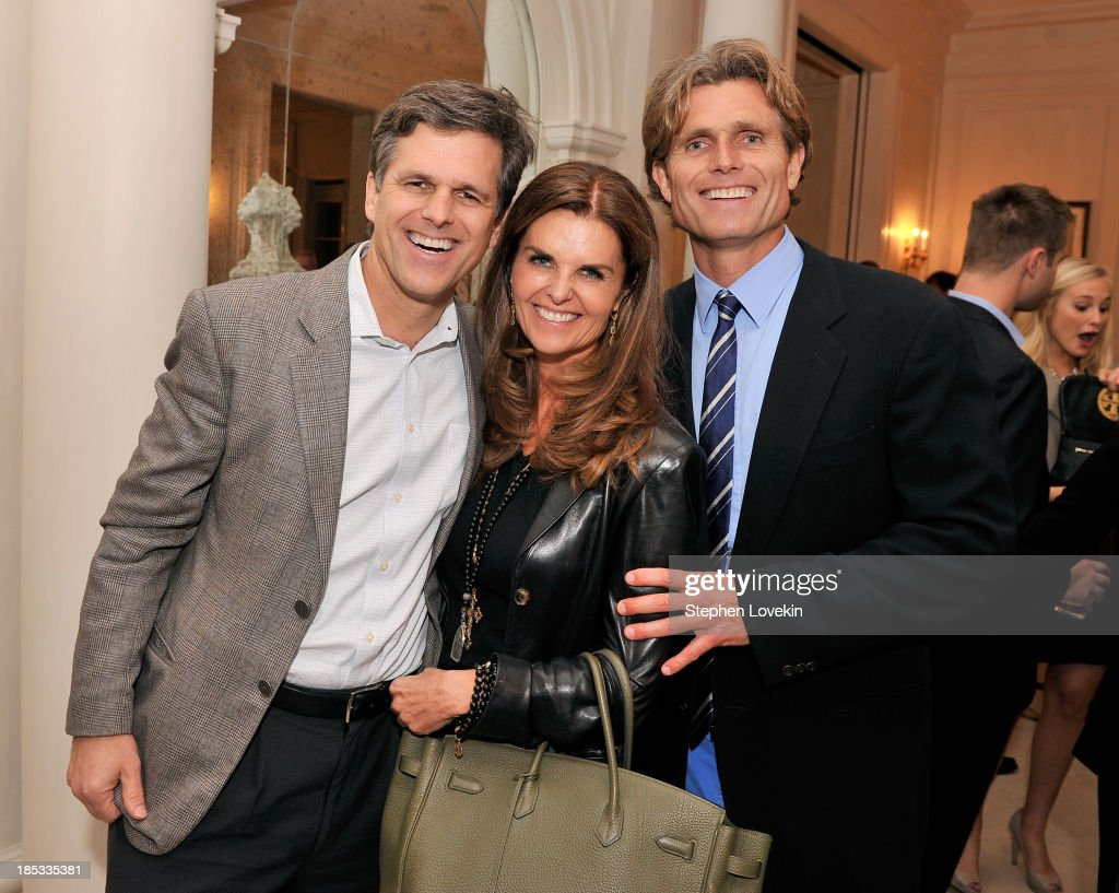 <a gi-track='captionPersonalityLinkClicked' href=/galleries/search?phrase=Timothy+Shriver&family=editorial&specificpeople=757215 ng-click='$event.stopPropagation()'>Timothy Shriver</a>, <a gi-track='captionPersonalityLinkClicked' href=/galleries/search?phrase=Maria+Shriver&family=editorial&specificpeople=179436 ng-click='$event.stopPropagation()'>Maria Shriver</a>, and Anthony Kennedy Shriver, Founder and Chairman of Best Buddies International, attend a reception hosted by Ted and Lynn Leonsis celebrating the 2013 Audi Best Buddies Challenge: Washington, DC on October 18, 2013 in Potomac, Maryland.