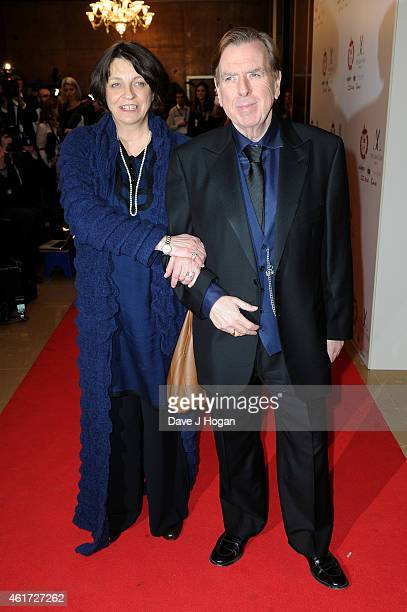 Timothy Spall and his wife Shane Spall attend The London Critics' Circle Film Awards at The Mayfair Hotel on January 18 2015 in London England