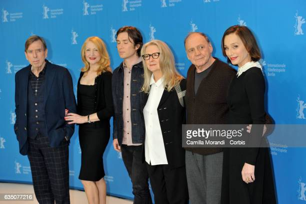 Timothy SpallPatricia Clarkson Cillian Murphy Sally Potter Bruno Ganz Kristin Scott Thomas attend the 'The Party' photo call during the 67th...