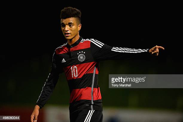 Timothy Tillman of Germany during the U17s International Friendly match between England U17 and Germany U17 at St Georges Park on November 18 2015 in...