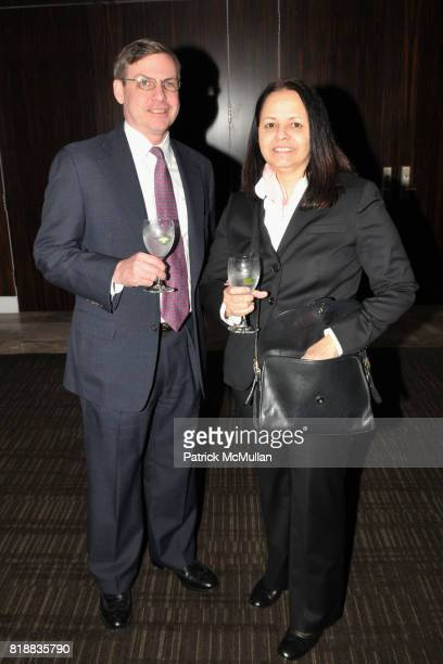 Timothy Wallace and Fathia Wallace attend TIME INC Live and Unfiltered Presents ROUGH JUSTICE Hosted by FORTUNE at Time and Life Building Screening...