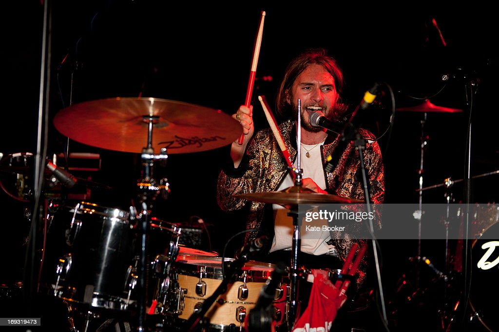 Timothy Walter of The Family Rain supporting Deap Valley performs on stage at Scala on May 22, 2013 in London, England.