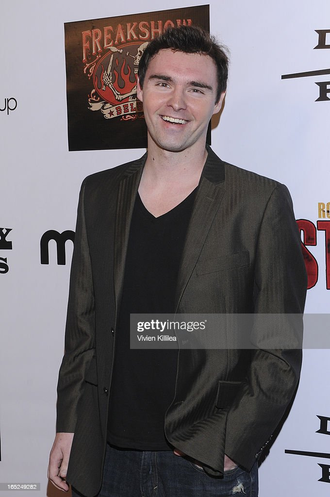 Timothy Woodward Jr. attends 'Stitches' - Los Angeles Premiere at Cinespace on April 1, 2013 in Los Angeles, California.
