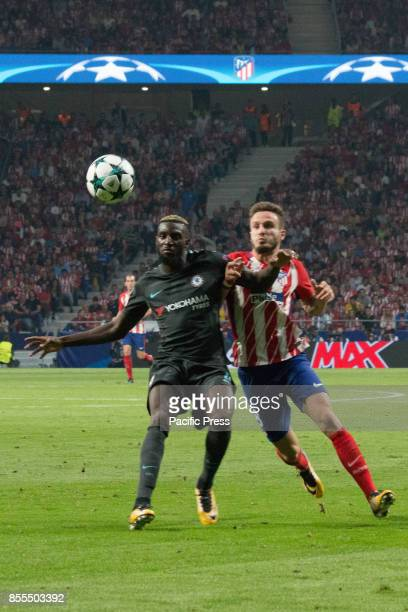 METROPOLITANO MADRID SPAIN Timoue Bakayoko and Saul Niguez Victory in the last seconds of the game for Chelsea by 1 to 2 Griezmann Morata and...