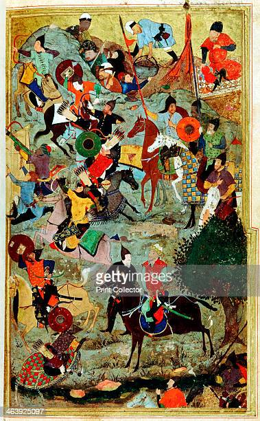 Timur attacking the Knights of St John at Smyrna 1402 Timur Lenk or Tamerlane meaning Timur the Lame was an Islamic Turkic conqueror who set out to...