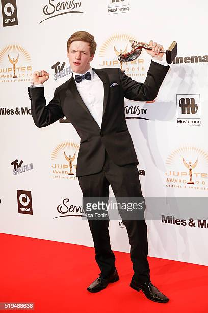 Timur Bartels and smart attend the Jupiter Award 2016 on April 06 2016 in Berlin Germany