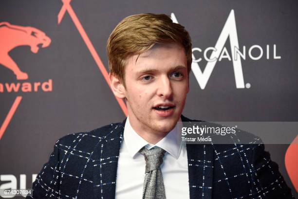 Timur Bartels attends the New Faces Award Film at Haus Ungarn on April 27 2017 in Berlin Germany