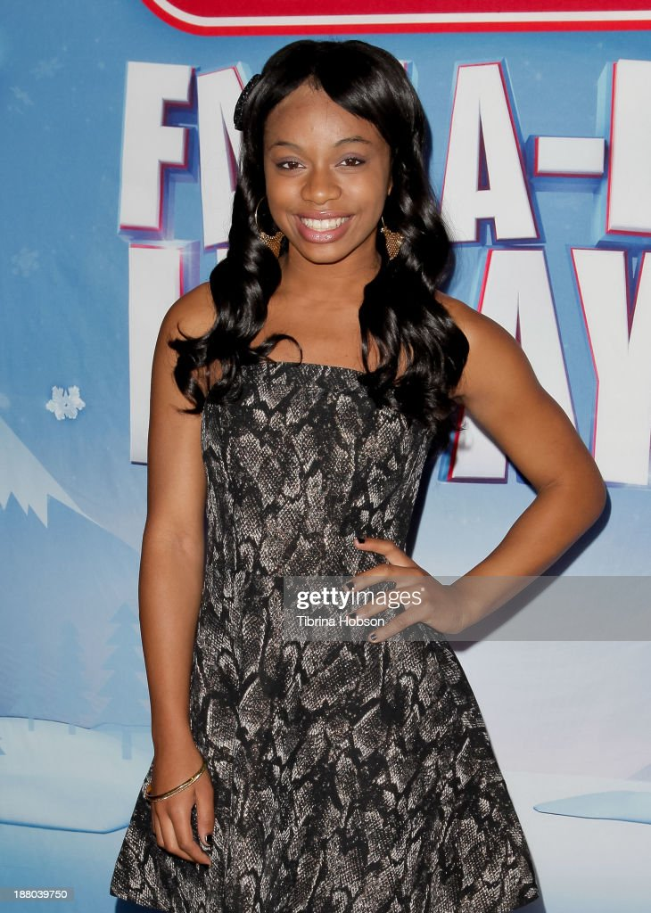 Timyra-Joi attends the tree lighting ceremony at Hollywood & Highland Center on November 14, 2013 in Hollywood, California.