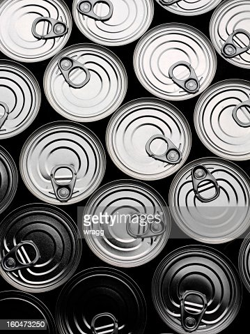 Tin Can Background