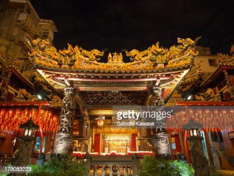 Tin Hau Temple in Taipei