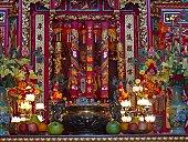 Tin Hau Temple interior , Hong Kong-1115