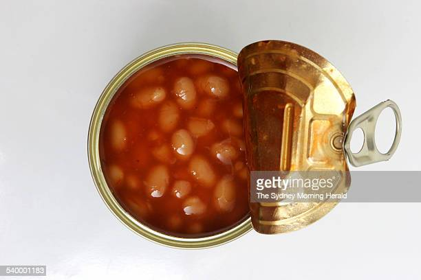 A tin of Heinz baked beans 19 April 2006 SMH Picture by DOMINO POSTIGLIONE