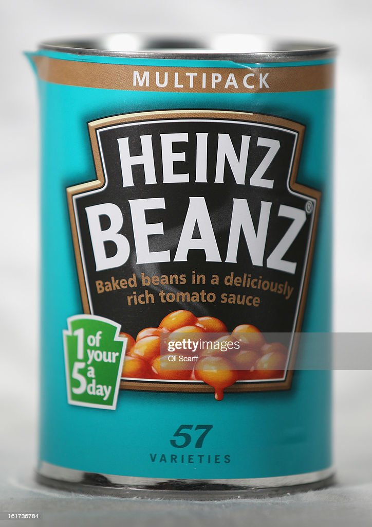 A tin of H.J. Heinz Co. Baked Beanz on February 15, 2013 in London, England. Billionaire investor Warren Buffett's Berkshire Hathaway is is teaming up with the Brazilian investment group 3G Capital to buy H.J. Heinz Co. for 23.3 billion USD.