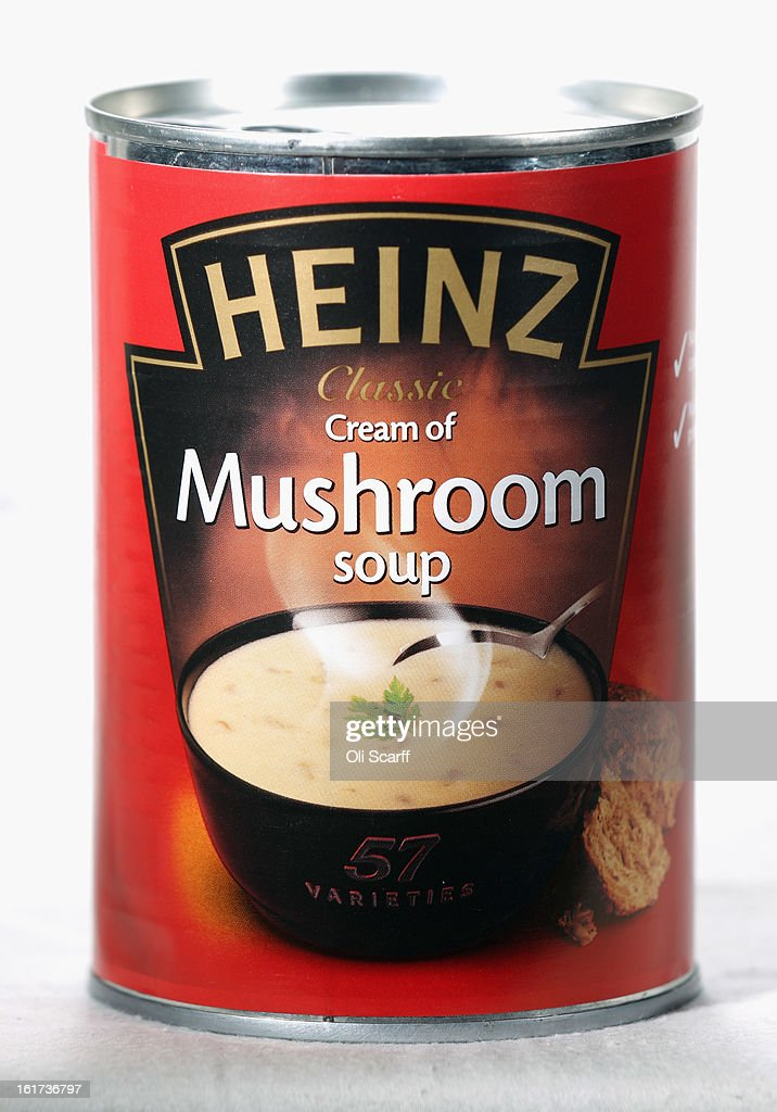 A tin of H.J. Heinz Co. Mushroom Soup on February 15, 2013 in London, England. Billionaire investor Warren Buffett's Berkshire Hathaway is is teaming up with the Brazilian investment group 3G Capital to buy H.J. Heinz Co. for 23.3 billion USD.