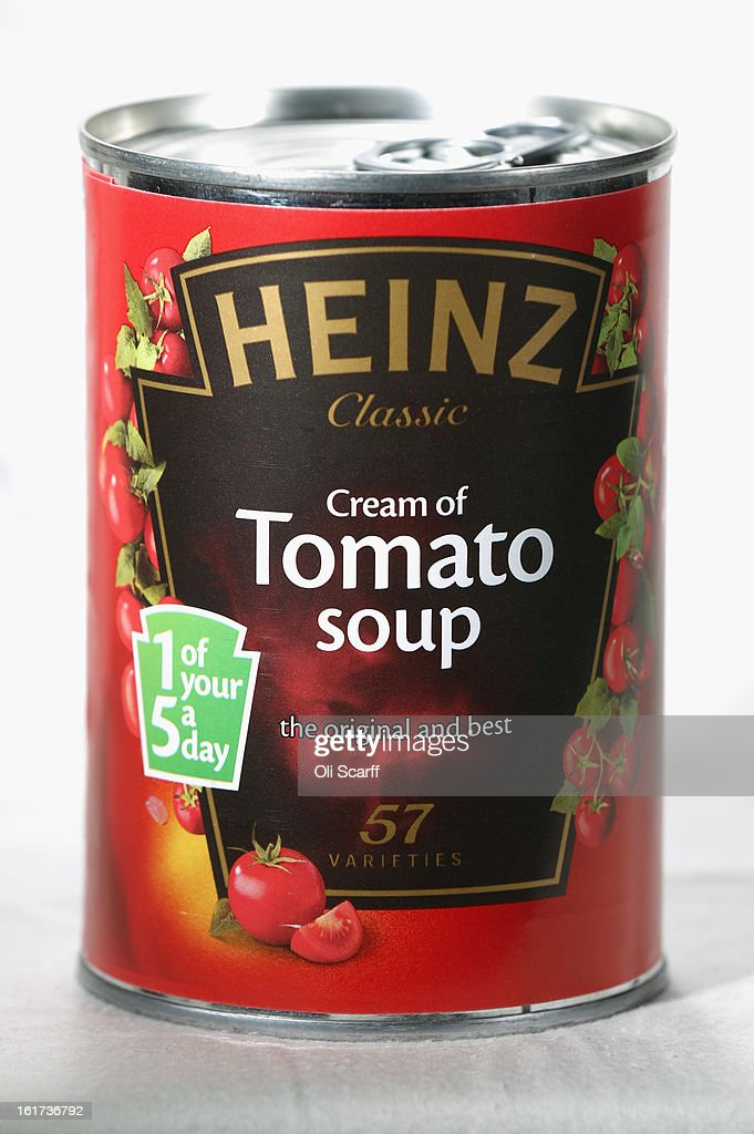A tin of H.J. Heinz Co. Tomato Soup on February 15, 2013 in London, England. Billionaire investor Warren Buffett's Berkshire Hathaway is is teaming up with the Brazilian investment group 3G Capital to buy H.J. Heinz Co. for 23.3 billion USD.