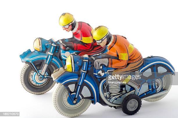Estaño juguetes: Motocicletas