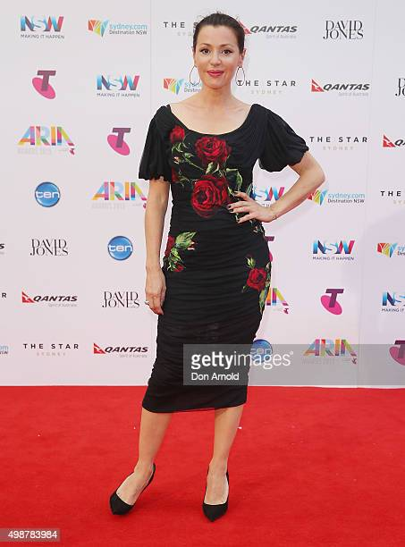 Tina Arena arrives for the 29th Annual ARIA Awards 2015 at The Star on November 26 2015 in Sydney Australia
