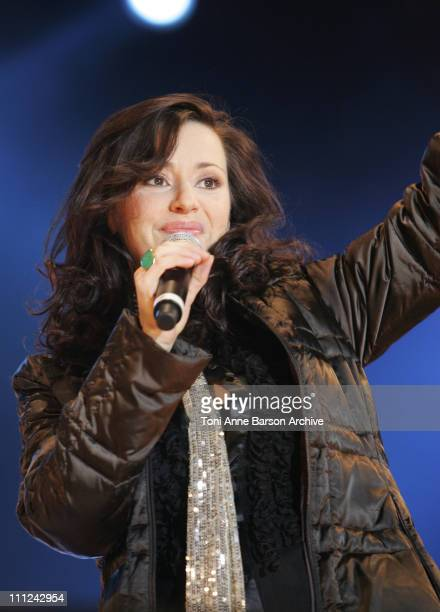 Tina Arena during Concert des Pieces Jaunes a Nice Yellow Coins Concert to Help Children in Hospitals at Theatre de Verdure in Nice France