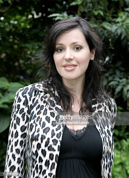 Tina Arena during Paris Haute Couture Fashion Week Fall/Winter 2005 JeanLouis Sherrer Arrivals in Paris France