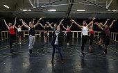 Evita The Musical Rehearsals