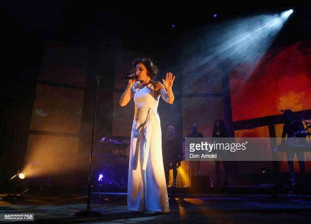Tina Arena performs at ICC Sydney Theatre on September 23 2017 in Sydney Australia