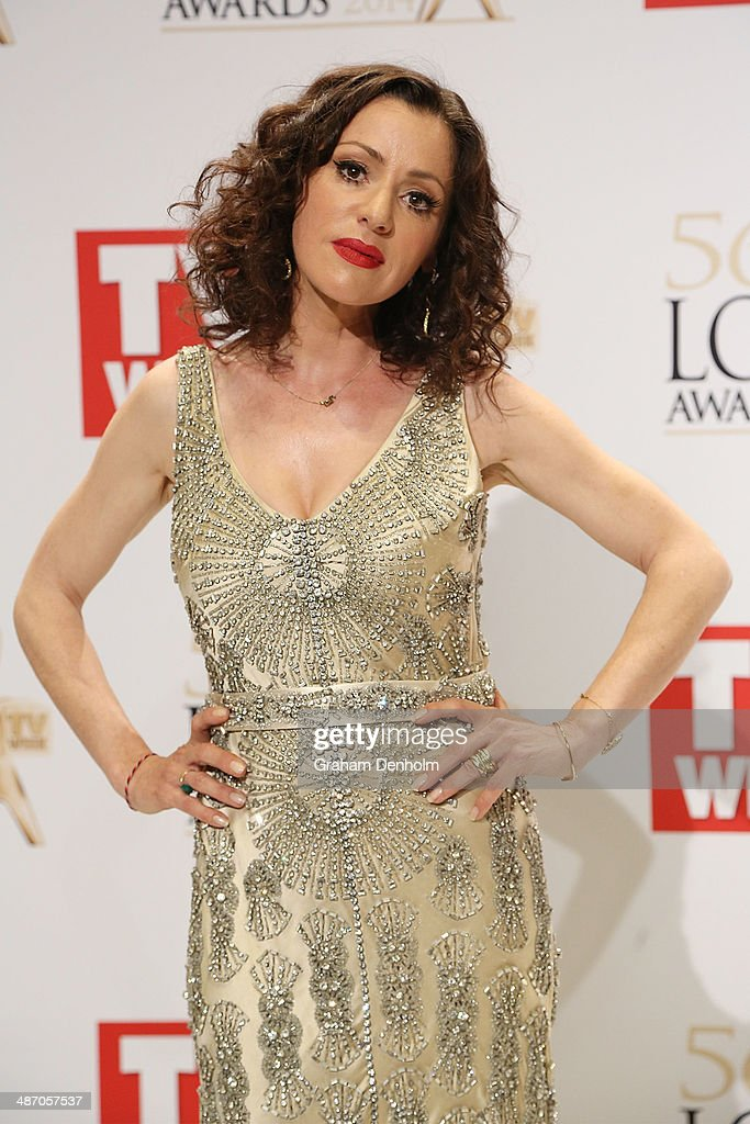 Tina Arena poses in the awards room at the 2014 Logie Awards at Crown Palladium on April 27, 2014 in Melbourne, Australia.