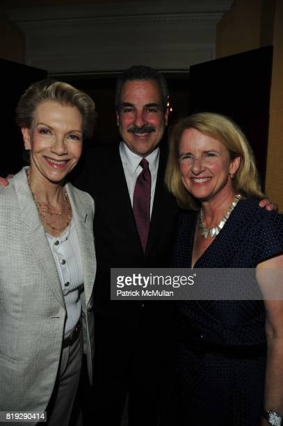 Tina Bilotti Dr Howard Koplewicz and Anne McNutley attend Dinner party to celebrate The Child Mind Institute's 2010 Adam Jeffrey Katz Memorial...