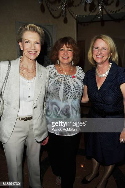 Tina Bilotti Phyllis Green and Anne McNutley attend Dinner party to celebrate The Child Mind Institute's 2010 Adam Jeffrey Katz Memorial Lecture...