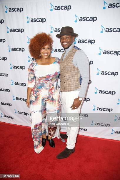 Tina Campbell and Teddy Campbell attend the 2017 ASCAP Morning Glory ...