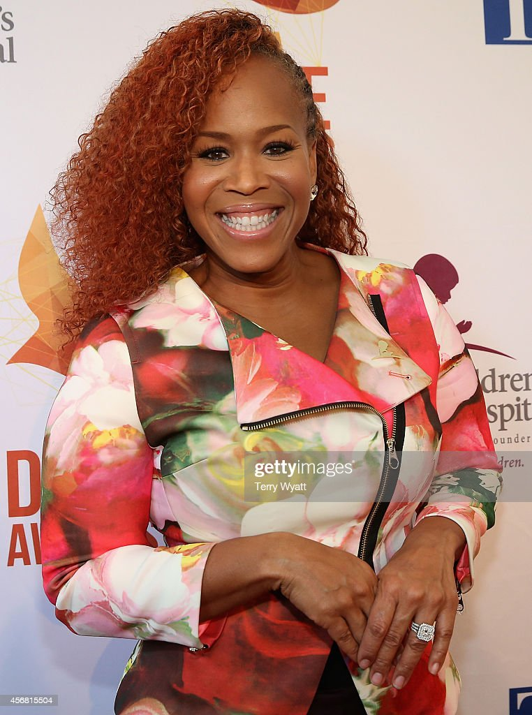 Tina Campbell of Mary Mary attends at the 45th Annual Dove Awards at Allen Arena Lipscomb University on October 7 2014 in Nashville Tennessee