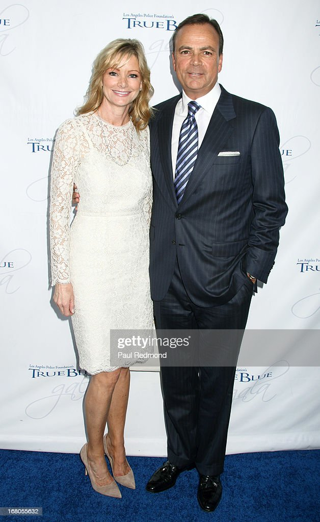 Tina Caruso and Real estate developer Rick J. Caruso attend The Los Angeles Police Foundation's 15th Anniversary True Blue Gala at Paramount Studios on May 2, 2013 in Hollywood, California.